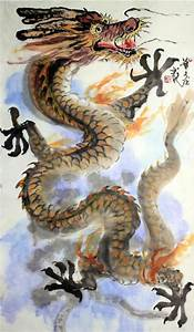 chinese brush painting dragon - Google Search | Gorgeous ...