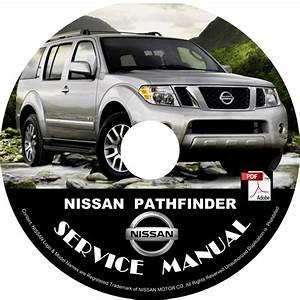 2010 Nissan Pathfinder Service Repair Shop Manual On Cd