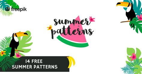 14 Free Summer Patterns