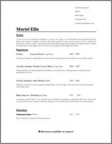 Resume Templates Cv Templates Jobfox Uk