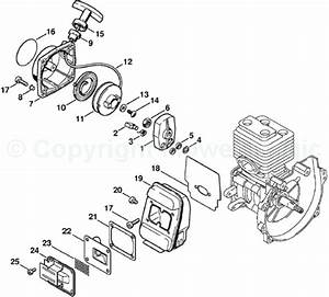 Stihl Fs 56 Parts Diagram Starter