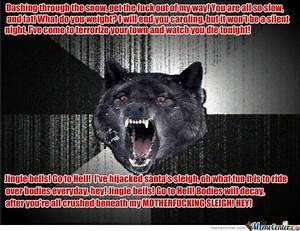 Insanity Wolf Christmas | www.pixshark.com - Images ...