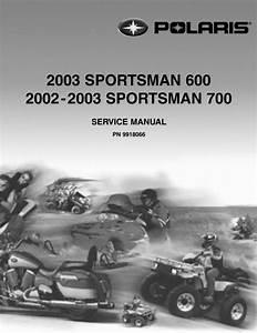 Polaris Sportsman 600 700 Complete Official Factory