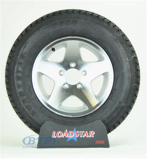 Aluminum Boat Trailer Wheels And Tires by Boat Trailer Tire St205 75d14 On Aluminum Wheel 5 Lug 5