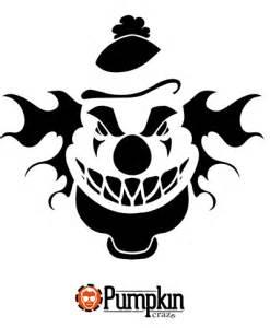 Clown Pumpkin Stencils Free by Scary Clown Pumpkin Carvings