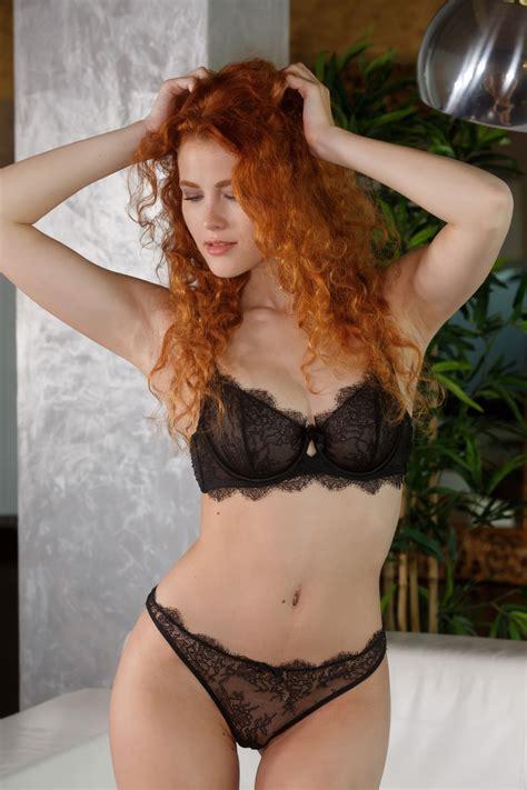 Wallpaper Heidi Romanova Redhead Women Model Curly