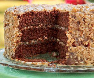 Test for doneness by inserting a toothpick in the center or pressing the cake lightly with a fingertip; Ashley Brooke: German Chocolate Cake