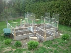 Chicken Wire Fence for Vegetable Garden