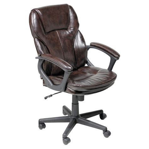 Serta Executive Chair Assembly by Serta Puresoft Faux Leather Managers Office Chair