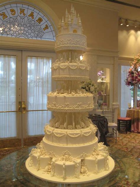 castle wedding cake amazing cakes offered at disney s tale weddings