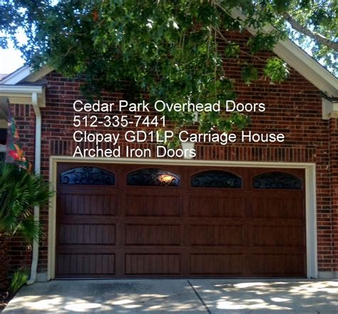 cedar park overhead doors carriage style garage doors in tx cedar park