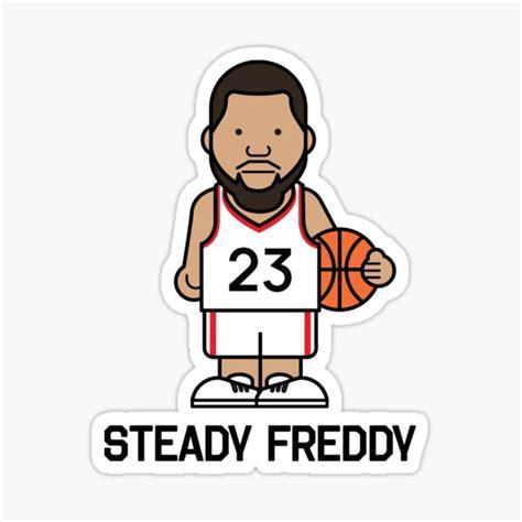 Steady Freddy Stickers | Redbubble