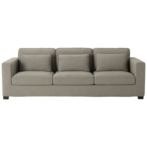 teindre un canapé en tissu non déhoussable canapé 4 places en tissu gris maisons du monde