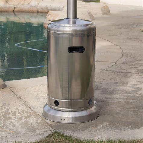 new 48 000 btu outdoor patio heater propane standing lp
