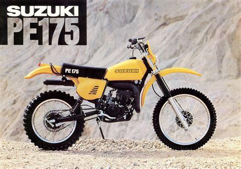 Suzuki Pe175 by Suzuki Pe175 Brochures Adverts