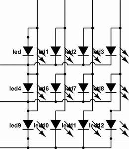 how should i current limit a led matrix electrical With led array circuit