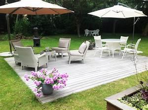 terrasse et amenagement paysager galaxy jardin With photos amenagement jardin paysager 17 amenagement terrasses
