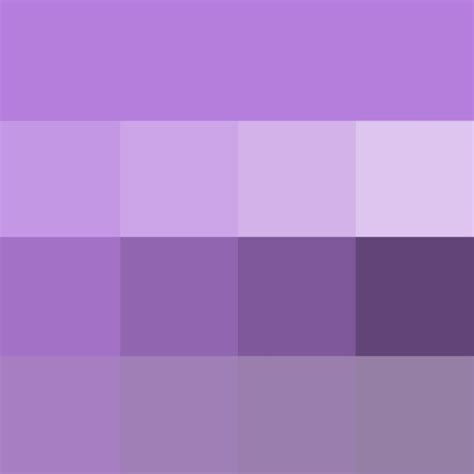 #lavender Shades (hue) ( Pure Color ) With Tints (hue