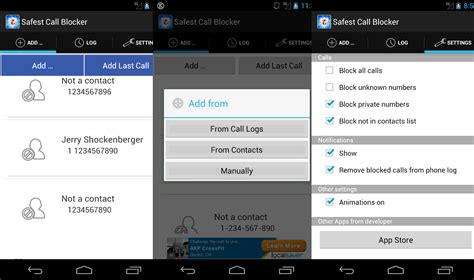 call blocker android how to block calls and texts on an android phone phandroid
