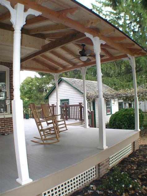 wrap around porch traditional porch philadelphia