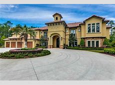 11,000 Square Foot Newly Built Mediterranean Mansion In