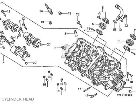 honda cbr400rg nc23 domestic parts list partsmanual partsfiche