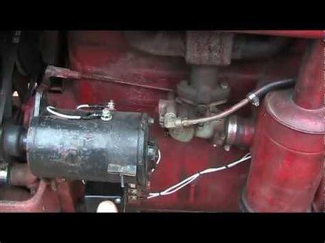 polarizing  delco remy generator   farmall abcsa
