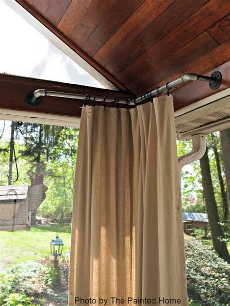 Patio Curtains Outdoor Idea by Outdoor Curtains Porch Curtains Porch Enclosure