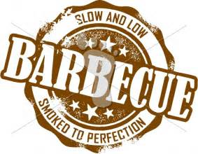 BBQ Menu Clip Art