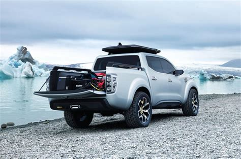 renault alaskan production model leaks   reveal