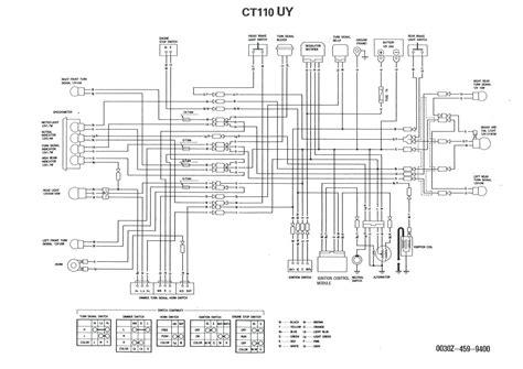 Lifan Pit Bike Wiring Diagram by Yamoto 110 Atv Wire Diagram Auto Electrical Wiring Diagram