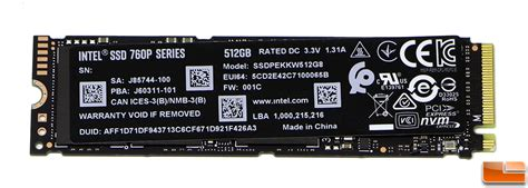 intel ssd p gb pcie nvme ssd review page    legit reviewsthe ssd benchmark test