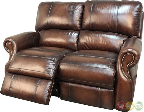 brown leather recliner living hawthorne brown leather reclining sofa set