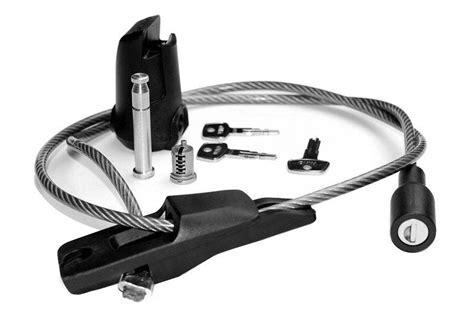 yakima handcuff cable lock yakima rack lock