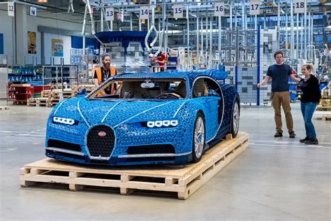 The bugatti chiron presents itself as the marriage of performance and luxury—can lego make a set which feels premium enough to live up to this let's get right to it—this is a premium lego technic set with a premium pricetag. This Life-size LEGO Bugatti Chiron Looks Incredible, and Really Can Drive
