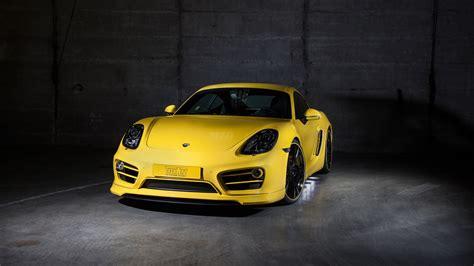 2016 Techart Porsche Cayman Wallpaper
