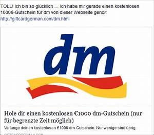 Amazon Gutschein Dm : facebook 1000 dm gutscheine zu gewinnen abo und spamfalle mimikama ~ Markanthonyermac.com Haus und Dekorationen