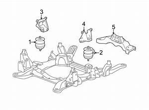 Cadillac Srx Automatic Transmission Mount  Awd  Engine