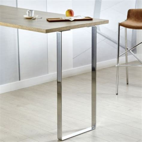 pied pour table bar pied de table metal