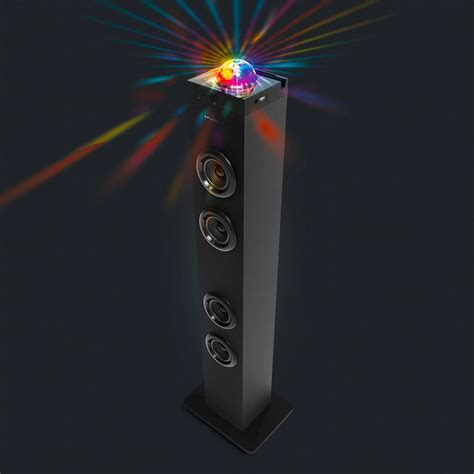 Disco Ball Bluetooth Tower Speaker   Cool Stuff Dude