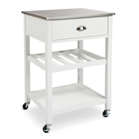 kitchen islands stainless steel top threshold stainless steel top kitchen cart ebay 8300