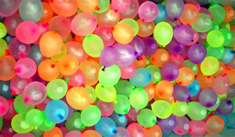 Neon Colors Decorations by Water Balloons Jodi Tripp Flickr