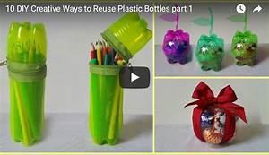 Basteln Mit Plastikbecher : 10 tipps was du aus plastikflaschen basteln kannst aus m ll mehrwert machen ~ Orissabook.com Haus und Dekorationen