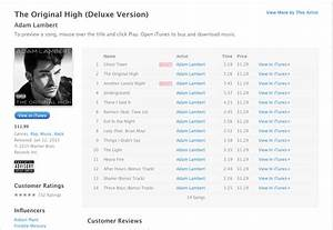 Adam Lambert's New Album #TheOriginalHigh Is Now Available ...