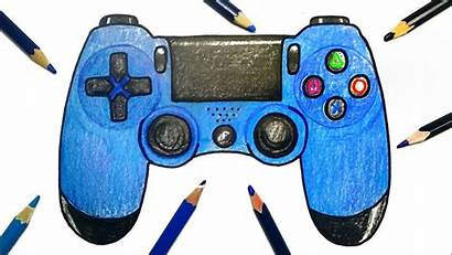Controller Ps4 Draw Playstation Drawing Easy Aesthetic