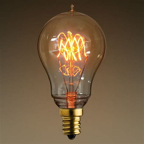Filament Light Bulbs by 40w Loop Filament Vintage Light Bulb