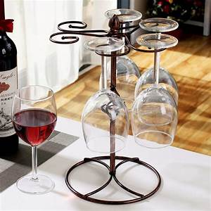 Gros Verre A Vin : achetez en gros vin verre stands en ligne des grossistes vin verre stands chinois aliexpress ~ Teatrodelosmanantiales.com Idées de Décoration