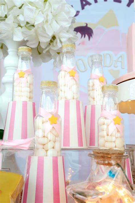 karas party ideas pastel twinkle star  days party