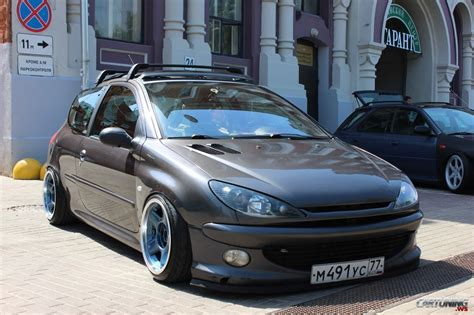 peugeot 206 tuning tuning peugeot 206 187 cartuning best car tuning photos