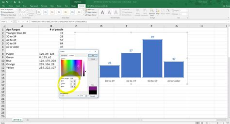 how to color code in excel k emery how to enter your custom color codes in excel